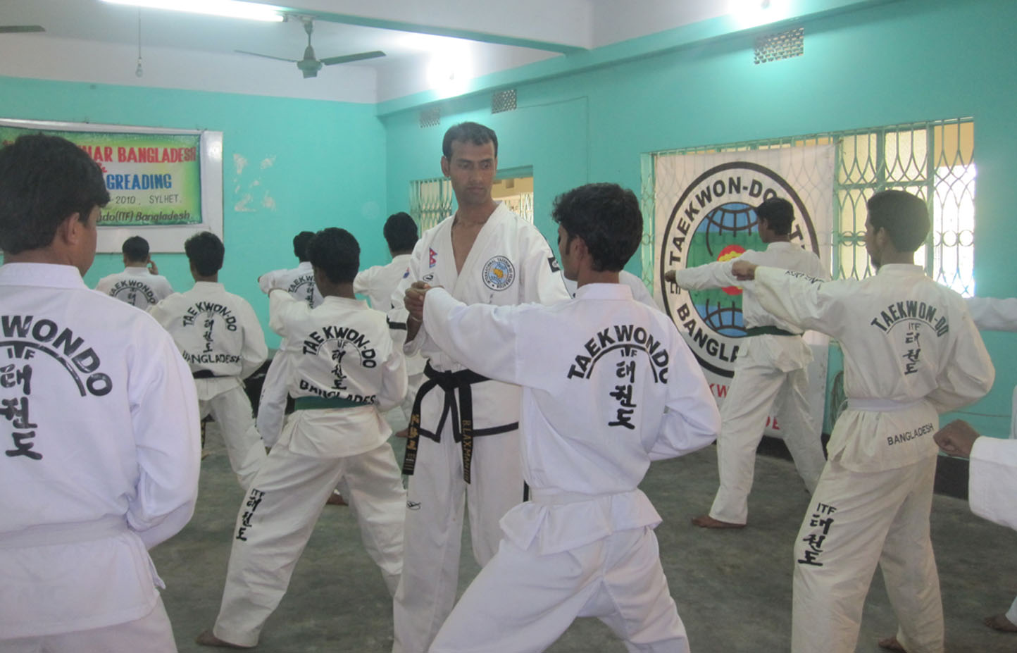 the international taekwondo federation One hq'ed in benidorm, spain (wwwtkd-itforg) which is a federation (its members  are themselves federations: north america & carribean, asia.